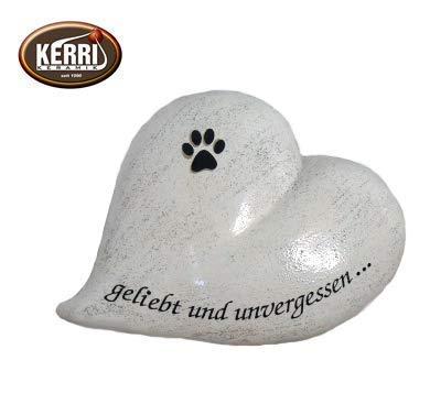 Kerri-Keramik Urne Herz 1 l