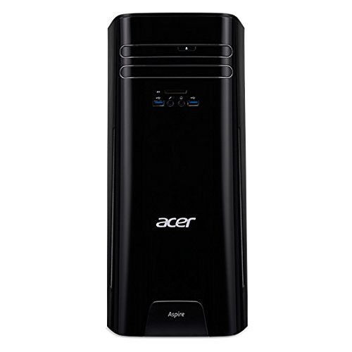 Acer Aspire TC-780 Desktop Computer - Intel Core i5 i5-7400 3 GHz - 8 GB DDR4 SDRAM - 1 TB HDD - Windows 10 Home 64-bit (Certified Refurbished)