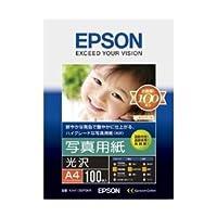エプソン 写真用紙≪光沢≫ (A4/100枚) KA4100PSKR ds-1891893