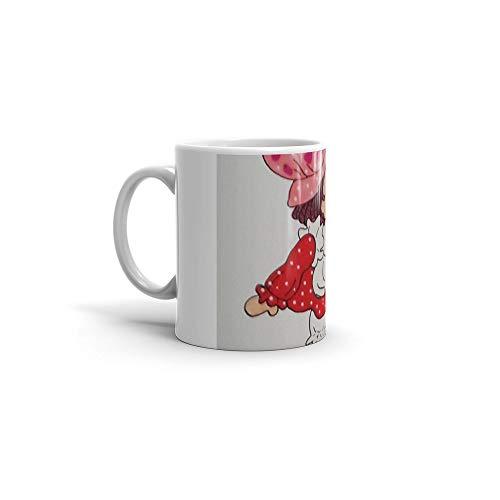 calanaram Strawberry Shortcake 80's pound puppies 11Oz Ceramic Coffee Mugs 633466217983