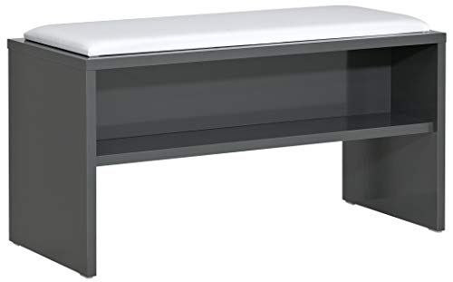 PELIPAL Solitaire 6005 Sitzbank/Anthrazit / 90 x 48 x 40 cm