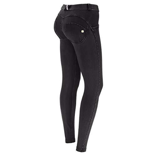 FREDDY Damen Skinny Jeans Wrup Snug, Blau (Blau Scuro Cuciture Nere J7N), 40 (Herstellergröße: L)