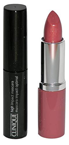 CLINIQUE Pop Lip Colour and Primer 3.8g 01 Nude Pop and Clinique high Impact Mascara Black 3.5ml