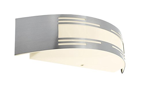 Deko-Light Vega | wandlamp binnen | RVS | E27