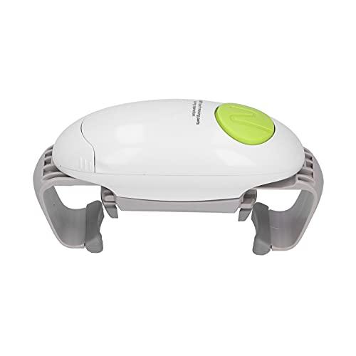Abrelatas eléctrico con diseño de un botón Cortar bordes lisos y redondeados Perilla ergonómica