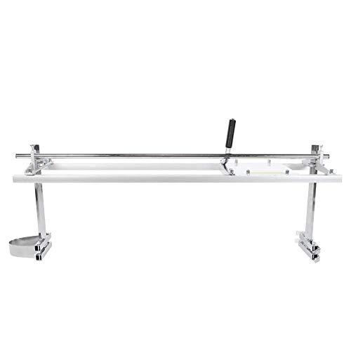 JALAL Motosierra portátil de aleación de Hierro de 48 Pulgadas, Accesorio para Motosierra, Herramienta de Corte para carpintería, tamaño de Barra de fresado de 14'a 48'