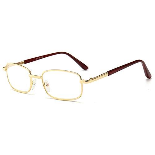 FXYY leesbril anti-blauw mode-lezers met metalen frame blauw blokkering Women Men Eyewear leesbril voor videogames, blauw licht + 1,0, 1,5, 2.0, 2.5, 3.0