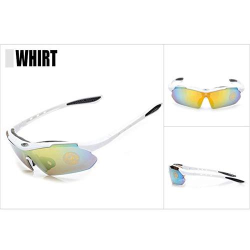 Polarizada Unisex de los Deportes de Ciclismo de montaña Gafas de Sol...