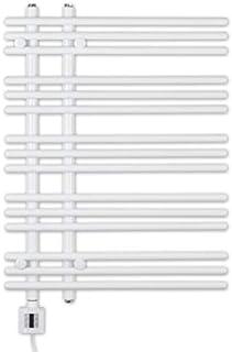 Eléctrico Radiador Toallero, Radiador Toallero, Blanco Recto, Incl. Patrón Calor, Fix Und Fertig Entrega, Eléctrico Radiador Toallero - blanco, 800h x 600b