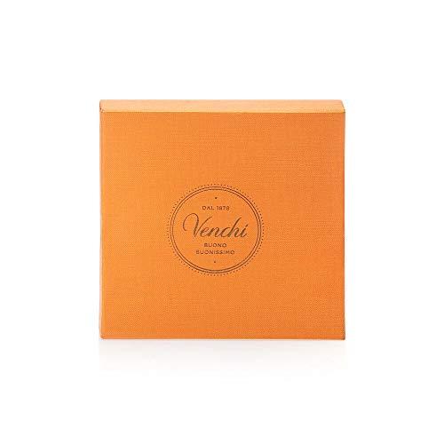 Scatola Regalo con Cioccolatini Gianduiotti, Arancio 96g - Tradizionale Specialità Piemontese - Senza Glutine