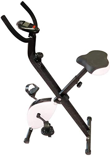 HANKING PLANET Bicicleta esttica Plegable, Bicicleta esttica Fitness con Niveles de...
