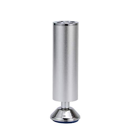 Möbelstützfüße aus Aluminiumlegierung können zur Erhöhung der Höhe eingestellt werden und eignen sich für Sofas, Bettfüße, Schuhschränke und andere Möbel/A / 100mm