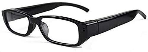 TenSky Mini videocámaras DV de los vidrios Video de Las cámaras espía 720P con función de Audio