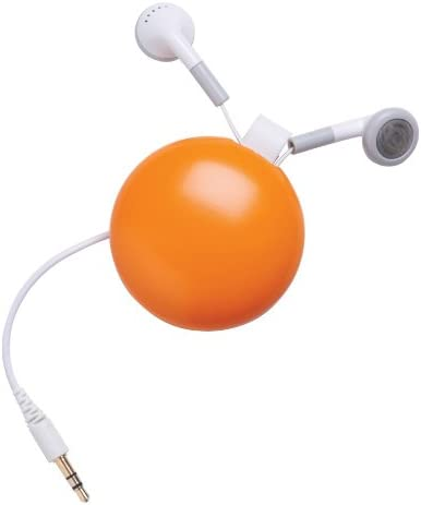 DCI 28984 Funkyfonic Wired Headsets with Retractable Earbuds Assorted Colors Retail Packaging product image