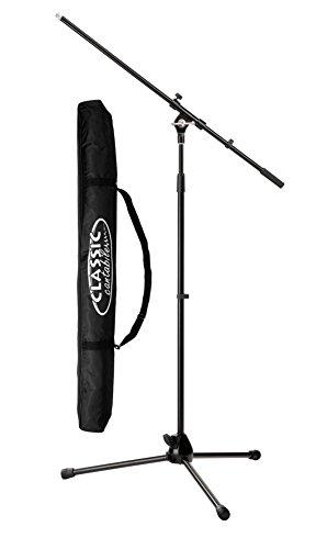 Pronomic MS-15 Pro Mikrofonstativ mit Galgen im SET + Classic Cantabile Mikrofonständertasche