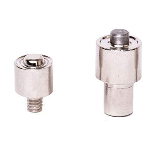 GETMORE Parts Werkzeug M6, Presswerkzeug, Stempel, Einschlagstempel, Ösenwerkzeug M6 für Ösenpresse, Spindelpresse mit M6 Werkzeugaufnahme, zweiteilig - für Ösen, 6 mm