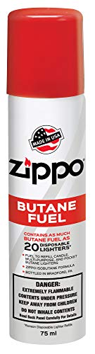 Zippo 3807 Butane Fuel, 75 ml Packaging May Vary