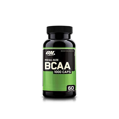 Optimum Nutrition Instantized BCAA Capsules, Keto Friendly Branched Chain Essential Amino Acids, 1000mg, 60 Count