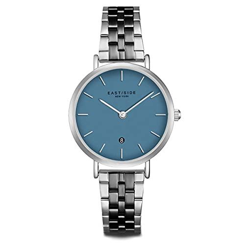 Eastside Reloj para Mujer análoga Japón Mecanismo de Cuarzo con Correa de Acero Fino 10080091