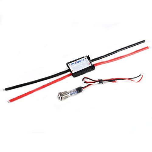 Hglrc-FLPSKY Funkenschutzschalter Pro Upgrade 280A 13s Breite Anwendung für Elektro Skateboard/Roller/Roboter Zubehör Kaemma (Farbe: Schwarz)
