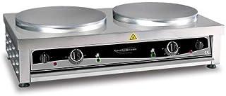 Crêpière professionnelle double électrique - 2 x Diamètre 400 mm - Combisteel -