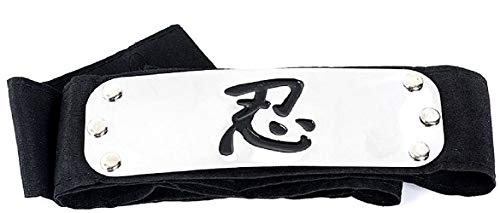 Diadema - funda para la frente - cabeza - naruto - alianza - ninja - anime - manga - cosplay - disfraz - carnaval - halloween - idea de regalo cosplay