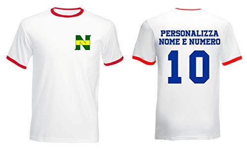 Tshirt Personalizzabile New Team Maglia New Team - personalizza con Nome e Numero - Cartoni Animati Anni 80 90