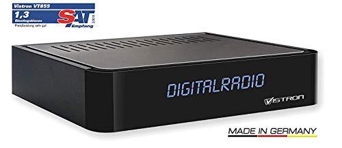 Vistron VT855 DVB-C Radio Tuner, Kabelradio, Radio für digitales Kabelfernsehen von Vodafone, Unitymedia, Telecolumbus, M-Net usw.