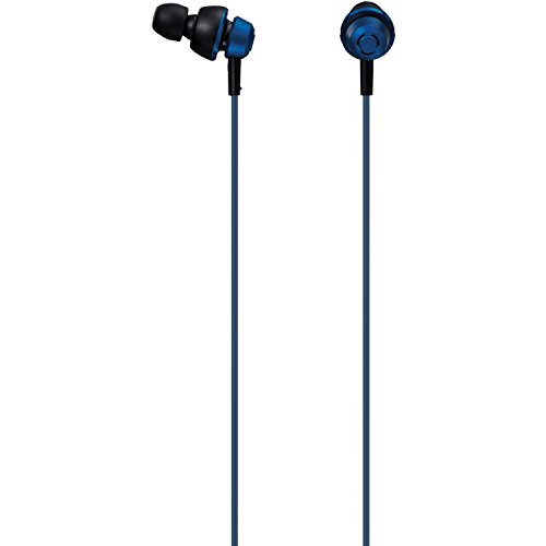 Panasonic drops360 Premium In-Ear Stereo Kopfhörer RP-HJX5-A (Metallic Blue) Leistungsstarker Bass, Superior Noise Isolation, kein Mic, Best für iPhone