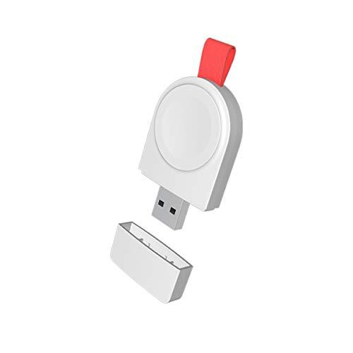 Yunnyp USB Horloge oplader, Snelle Draadloze USB-oplader voor Applee Horloge Series 4/3/2/1 Applee Horloge Draadloze Opladen Stand voor Iphonee, as shown, Zoals getoond