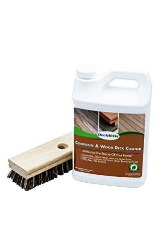 DeckMAX Composite & Wood Deck Cleaner Kit -the nation's leading wood & composite deck cleaner recommended by Manufacturers, Distributors & Contractors!