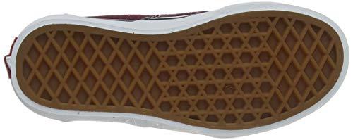 Vans Doheny, Scarpe da Ginnastica, Rosso ((Flame Check) Port Royale/White W76), 34.5 EU