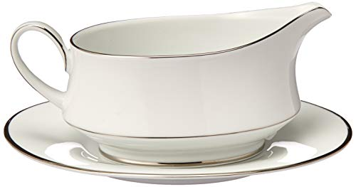 Noritake Spectrum Gravy Boat with Stand