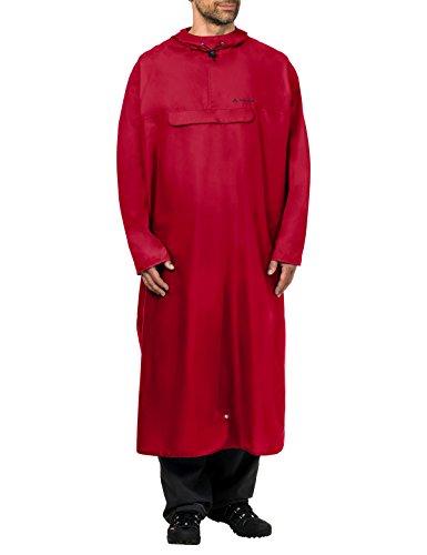 VAUDE Poncho Veste Mixte Adulte, Indian Red, FR : L (Taille Fabricant : L/XL)