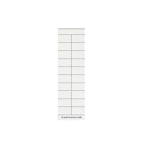 Leitz 24600001 plaatje (blanco f2454/44) 200 stuks wit