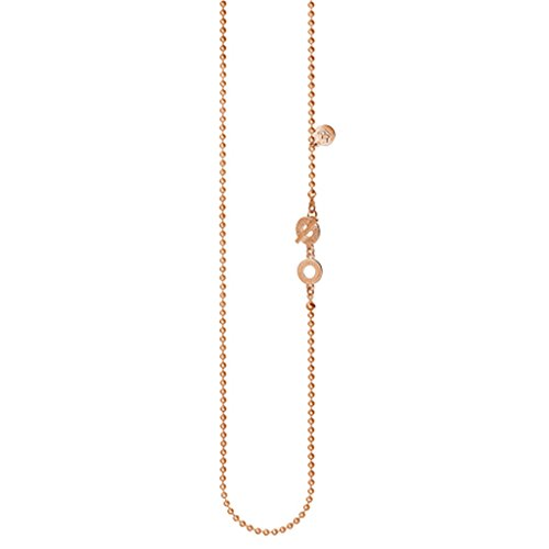 SENCE Copenhagen - Serie 'Essentials' 2015, Halskette 90 cm, vergoldet (Rosegold)