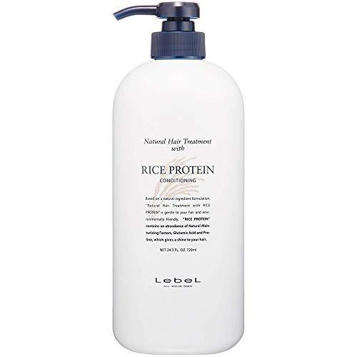 Lebel Natural Hair Treatment - Rice Protein 720ml (Green Tea Set)