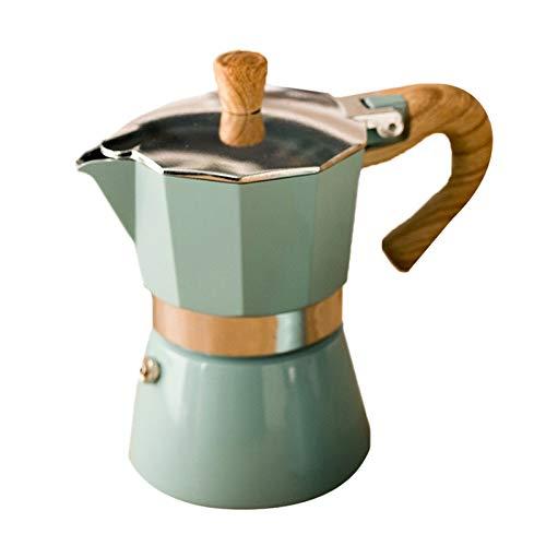 Baalaa Cafetera Cafetera Aluminio Moka Espresso Percolator Pot Cafetera Cafetera Cafetera Espresso Percolator Stovetop Coffee Maker