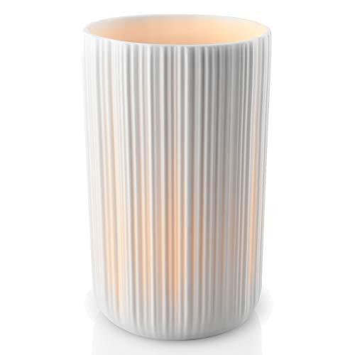 Eva Solo Wiecznik LED 9 cm, verre borosilicate, gris, 5 cm.