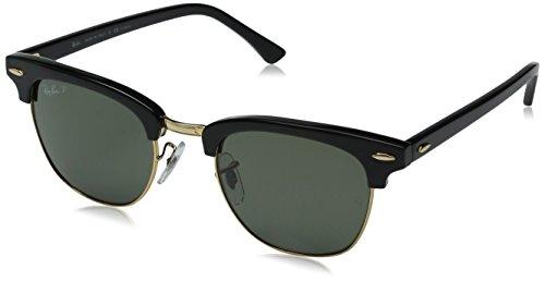Ray-Ban Clubmaster Gafas de sol, 901/58, 49 mm para Hombre
