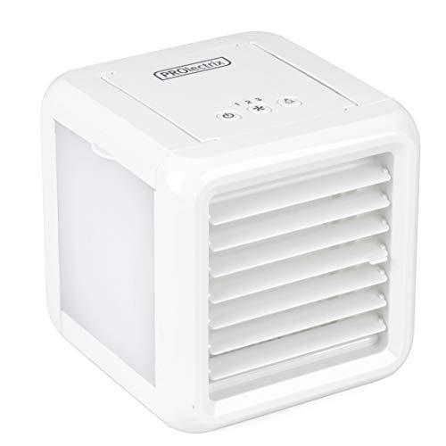 PROLECTRIX® EH3139V2PROVDE Ice Cube Plus Persönlicher Tischluftkühler, 600ml, 5W, weiß