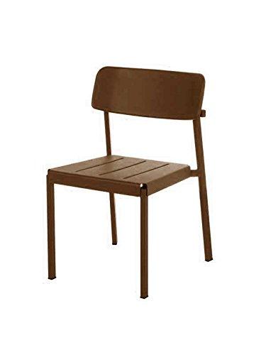 Emu - Shine stoel - donkerbruin - Arik Levy - Design - tuinstoel - zonnestoel - terrasstoel