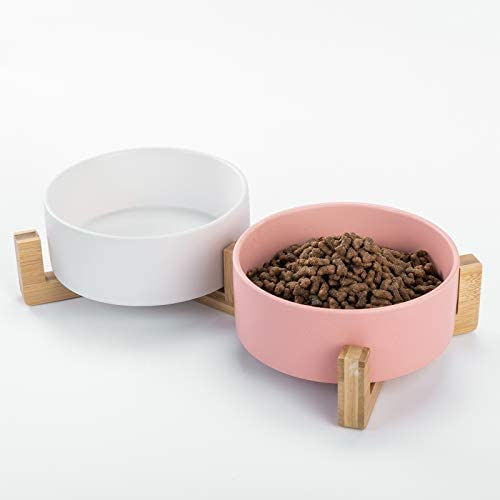 Ihoming Dog Bowl Food Water Dish for Dogs and Cats Ceramic Pet Bowl for Food Water product image
