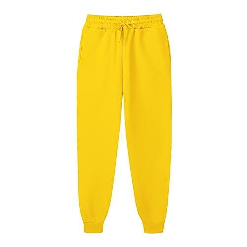 N\P Pantalones de longitud completa con cordón pantalones pantalones casuales pantalones de deporte