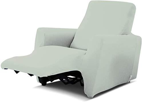 Biancaluna - Funda para sillón reclinable Relax Genius Lounge - Funda para sofá de 1 Plaza (Dover)