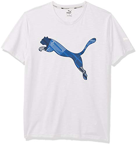 PUMA Men's T-Shirt, White, L