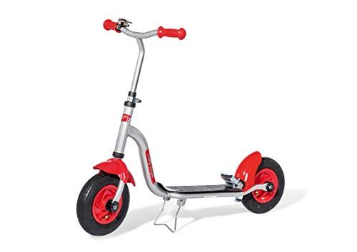 Rolly Toys rollyBambino Kinderroller (Alter 3-8 Jahre, Trittbremse, Klingel, Luftbereifung, belastbar bis max. 50 kg) 069965