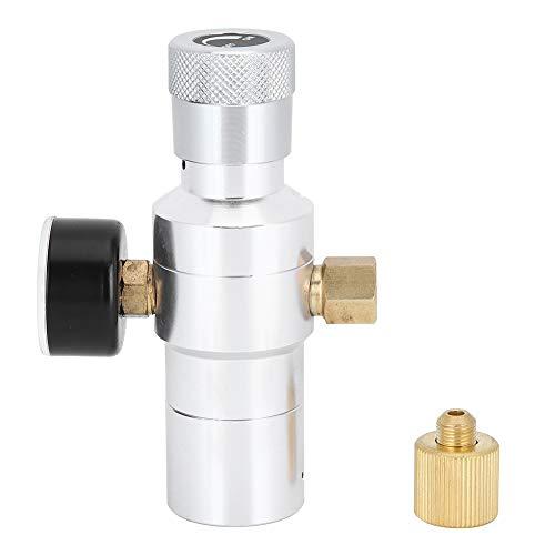 Barriles de elaboración de cerveza de CO2 Regulador de barril Mini herramienta de fabricación de agua de soda de cerveza casera Aluminio MFL 3/8 pulgadas 0‑150PSI