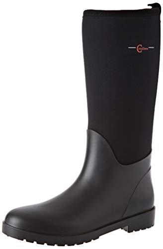 Covalliero Kerbl 32207 Stiefel NeoLite, Gummistiefel Stallstiefel Wärmeisoliert, Schwarz, 40