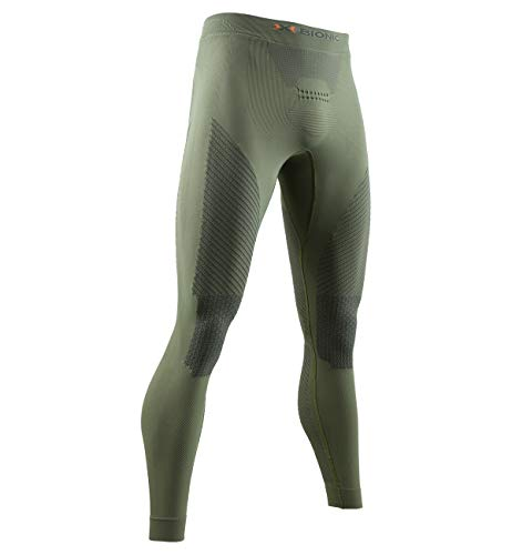 X-Bionic Hunt Energizer 4.0 Light Pants Men Homme, Olive Green/Anthracite, FR : L (Taille Fabricant : L)